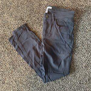 Loft skinny grey pants